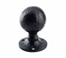 Foxcote Foundries FF415M Ball Mortice Door Knob Handles Black Antique £15.43