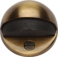 Oval Floor Mounted Door Stop Heritage Brass V1080-AT Antique Brass £4.24