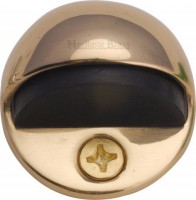 Oval Floor Mounted Door Stop Heritage Brass V1080-PB Polished Brass £3.32