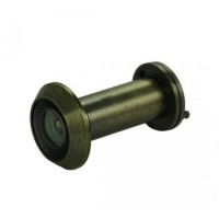 D&E FD30 Fire Rated Door Viewer & Cover Antique Brass 200 Degree 35-55mm £17.44
