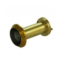 D&E FD30 Fire Rated Door Viewer & Cover Polished Brass 200 Degree 35-55mm £14.96