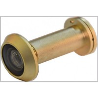 D&E FD30 Fire Rated Door Viewer & Cover Satin Brass 200 Degree 35-55mm £26.50