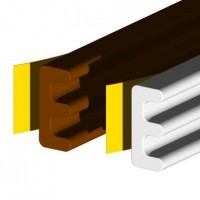 Stormguard EPDM E Draught Strip 10mtr Brown £7.44
