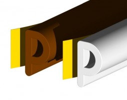 Stormguard EPDM P Draught Strip 10mtr White £7.45