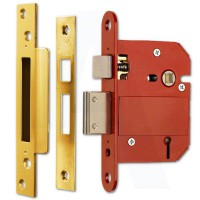 Era 5 Lever Mortice Sashlock Fortress BS3621 362-31 76mm Brass £26.74