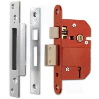 Era 5 Lever Mortice Sashlock Fortress BS3621 362-51 76mm Satin £26.74