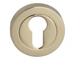 Fortessa Euro Profile Escutcheons PVD Brass Per Pair £7.44