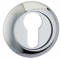 Fortessa Euro Profile Escutcheons Polished Chrome Per Pair £7.44