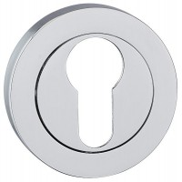 Fortessa Euro Profile Escutcheons Polished Chrome Per Pair £6.07