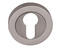 Fortessa Euro Profile Escutcheons Satin Nickel Per Pair £6.07