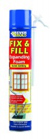 Expanding Foam Everbuild Fix & Fill 750ml £6.09