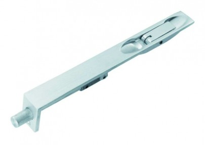Flush Bolt Lever Action 150mm x 19mm Polished Chrome