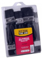 FFTJ 50 Piece Economy All Purpose Paint & Varnish Brush Set £17.94