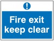 Fire Escape / Exit Signage