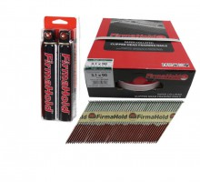 FirmaHold Collated Clipped Head Nails & Gas FirmaGalv Plus 3.1 x 90/2CFC £51.25
