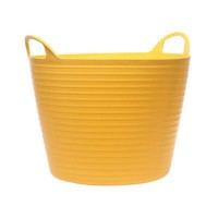Flexi Tub Yellow 42ltr Large £6.41