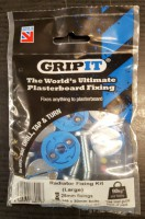 Gripit Plasterboard Fixings Radiator Large Kit £6.55