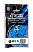 Gripit Blue Plasterboard Fixings 25mm Pack of 8 £8.16