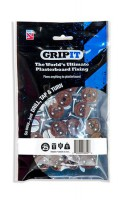 Gripit Brown Plasterboard Fixings 20mm Pack of 25 £11.66