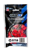 Gripit Red Plasterboard Fixings 18mm Pack of 25 £10.84