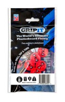 Gripit Red Plasterboard Fixings 18mm Pack of 8 £6.50