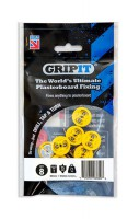 Gripit Yellow Plasterboard Fixings 15mm Pack of 8 £5.66