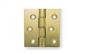 76mm Butt Hinge HDPBW21 Polished Brass per single £3.31