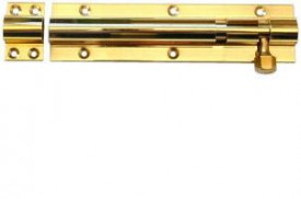 Barrel Bolt 250mm x 30mm Straight Brass £10.00