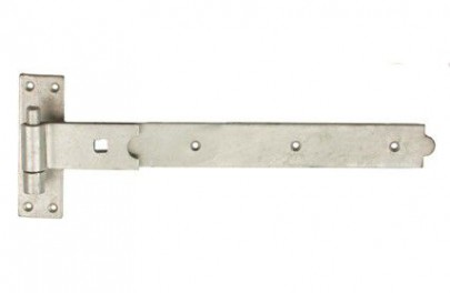 Band & Hook Gate Hinges Straight Galv 750mm Per Pair