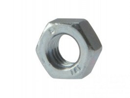 M6 Hex Nut Zinc Plated Pack of 100 £3.07