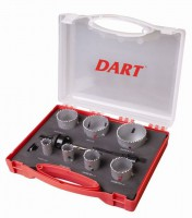 Hole Saw Cutter Set Dart HSS Bi-Metal DAHK10 £43.54