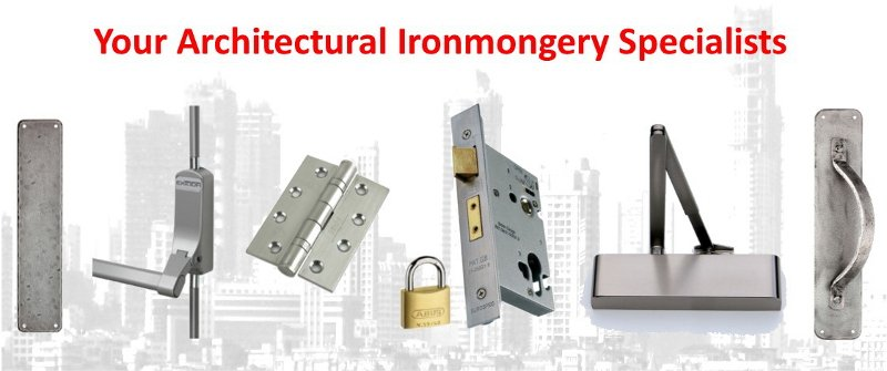 Door Closing Device, Door Hinges, Escape Hardware, Locks and Security, Door Handles, Door Protection and Architectural ironmongery in Manchester.