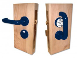 Jeflock Disabled Bathroom Lockset Standard Dark Blue £184.15