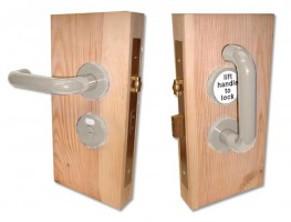 Jeflock Disabled Bathroom Lockset Antibac Normbau Manhattan £184.15