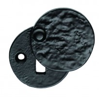 Ludlow Foundries Covered Lever Key Escutcheon LF5546 Black Antique £1.80