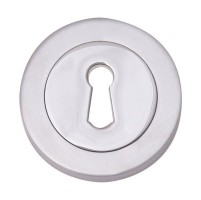 Fortessa Lever Key Escutcheons Polished Chrome Per Pair £6.07