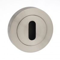 Mediterranean Lever Key Escutcheon M-ESC-K-SN Satin Nickel £3.59