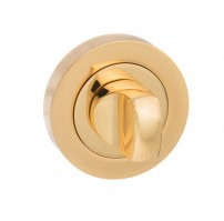 Mediterranean Bathroom Turn & Release M-WC-BP Polished Brass Plated £10.21