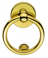 Carlisle Brass Victorian Ring Door Knocker M37 Polished Brass £31.00