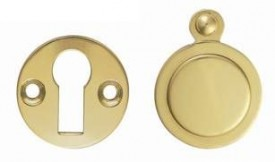 Carlisle Brass Victorian Open & Covered Escutcheon Set M4142/BP Polished Brass £7.27