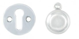 Carlisle Brass Victorian Open & Covered Escutcheon Set M4142CP/BP Polished Chrome £9.26