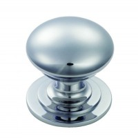 Victorian Cupboard Knob M47BCP 32mm Polished Chrome £4.68