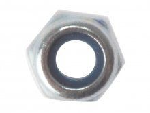 M10 Nyloc Nut Zinc Plated Pack of 10 £1.21