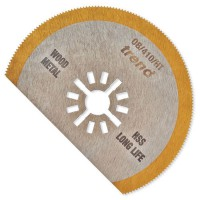 Trend OB/410/HT Oscillating Tool Blade 80mm Segmented HSS TiN Coated £19.81