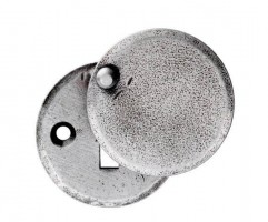 Ludlow PE5546C 40mm Standard Lever Key Profile Covered Escutcheon Pewter £5.78