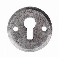 Ludlow PE5546O 40mm Standard Lever Key Profile Open Escutcheon Pewter £5.47