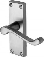 Marcus PR610-SC Malvern Lever Latch Door Handles Satin Chrome £10.26