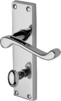 Marcus  PR620-PC Malvern Lever Bathroom Door Handles Polished Chrome £13.91