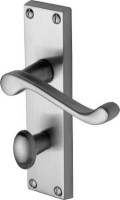 Marcus  PR620-SC Malvern Lever Bathroom Door Handles Satin Chrome £13.37