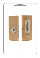 Primera PR-1-66-729B Anti Ligature Auto Nightlatch Bedroom Lockset. 54mm door SSS £393.35